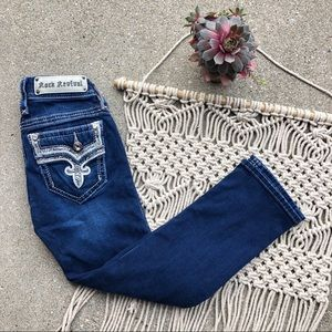 Rock Revival Denim Betty Crop Jeans Size 25